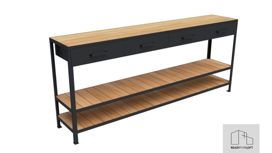 Braddan chest of drawers
