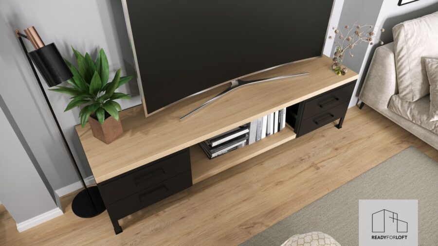 Crosby TV stand