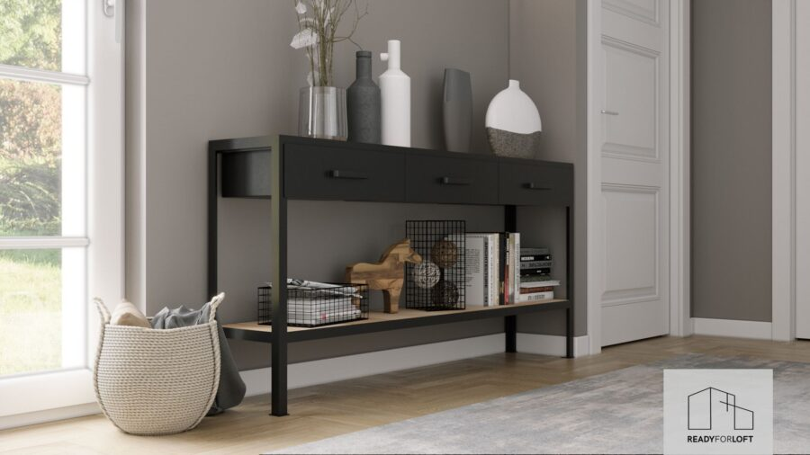 Industrial Baldrine Chest of drawers