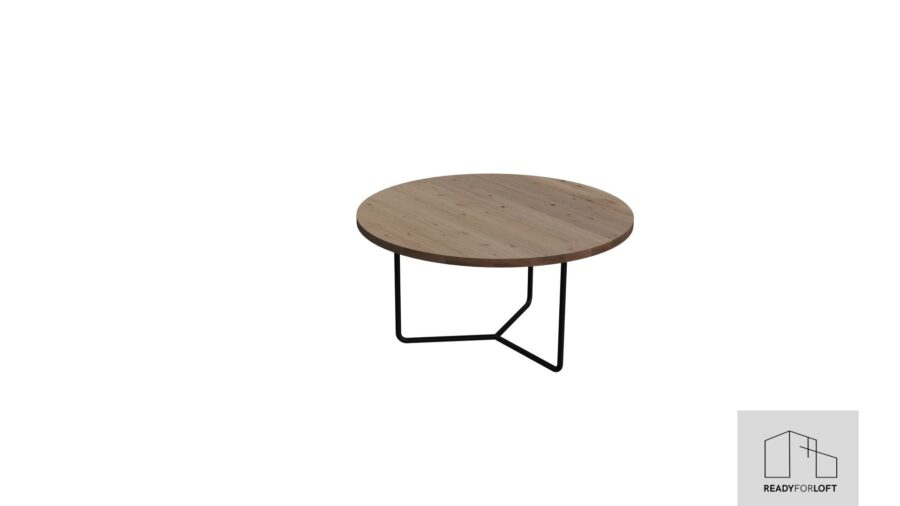 Olden Round Oak Coffee Table