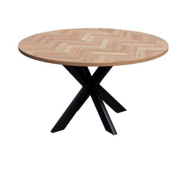 Round Volden Fishbone Table with Matrix Leg