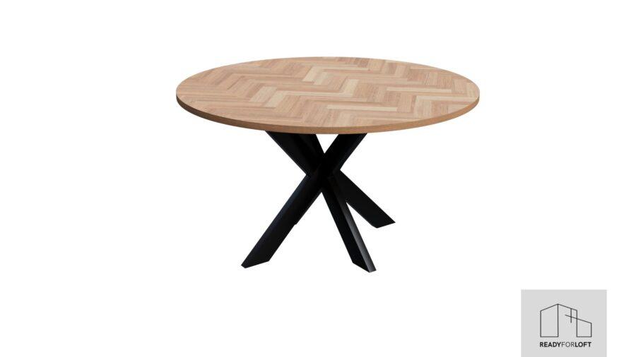 Runder Volden Fishbone Tisch mit Matrix Bein