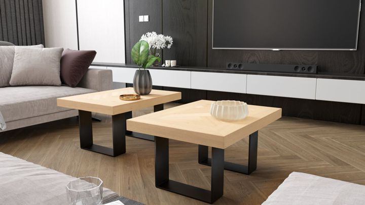 industrial coffe tables